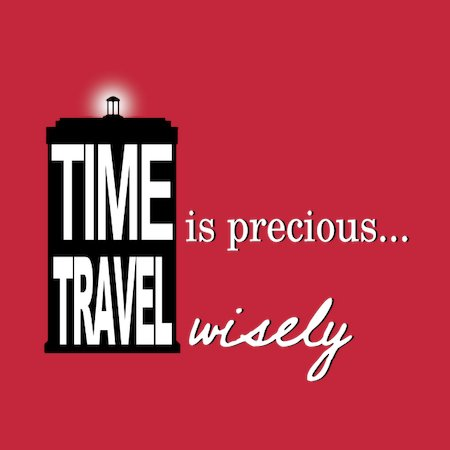 Time Travel Wisely T-Shirt