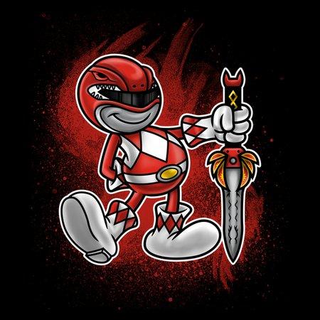 Vintage Red Ranger T-Shirt