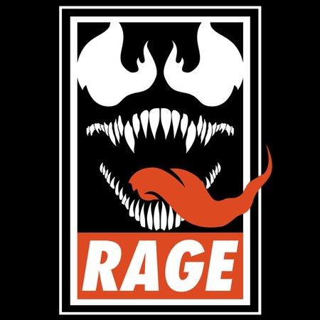 Rage. T-Shirt