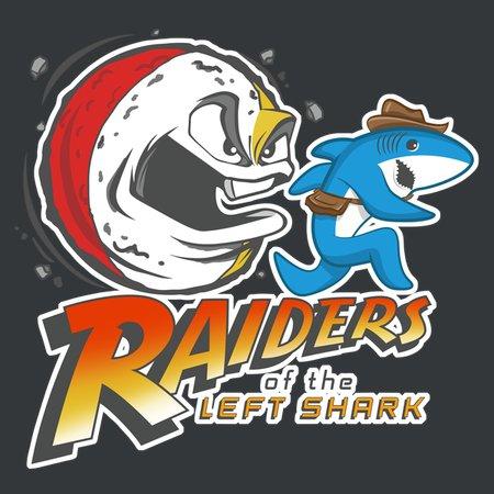 Raiders Of The Left Shark T-Shirt