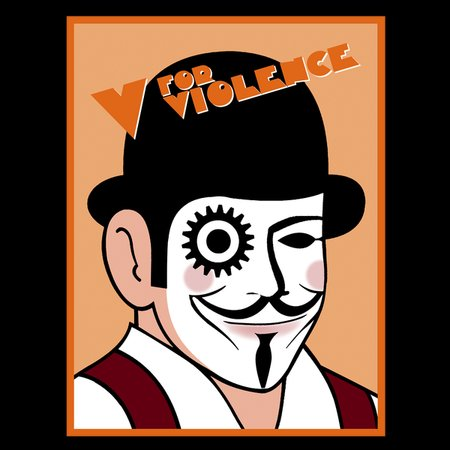 V For Violence T-Shirt