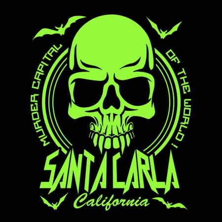 Santa Carla – Murder Capital Of The World T-Shirt