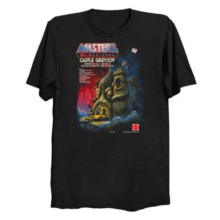 CASTLE GREYJOY - Thrones Parody T-Shirts