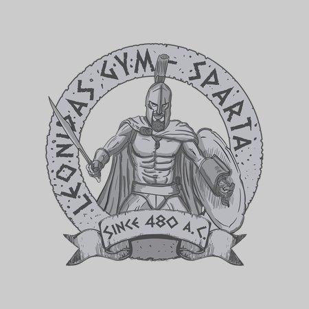 Leonidas Gym – Sparta T-Shirt