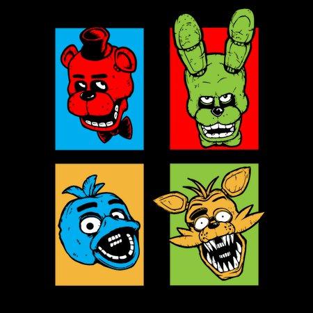 Five Nights Pop Art T-Shirt thumbnail