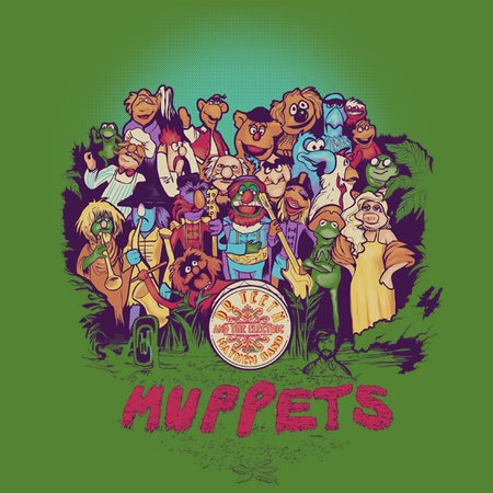 The Muppets' Lonely Heart Club Band T-Shirt
