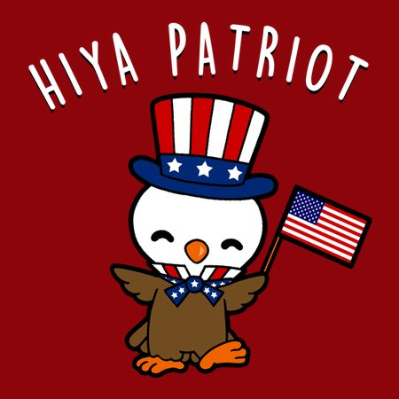 Hiya Patriot T-Shirt