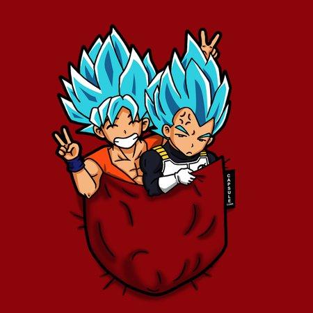 Pocket Super Saiyan Gods T-Shirt