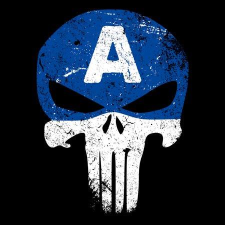 Captain Punisher T-Shirt thumbnail