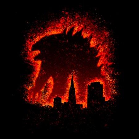 The Burning Lizard T-Shirt