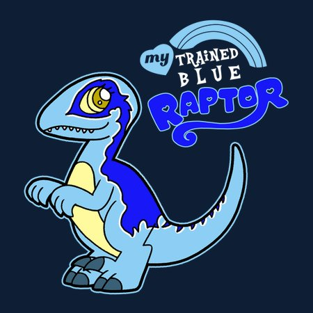 my trained blue raptor neatoshop