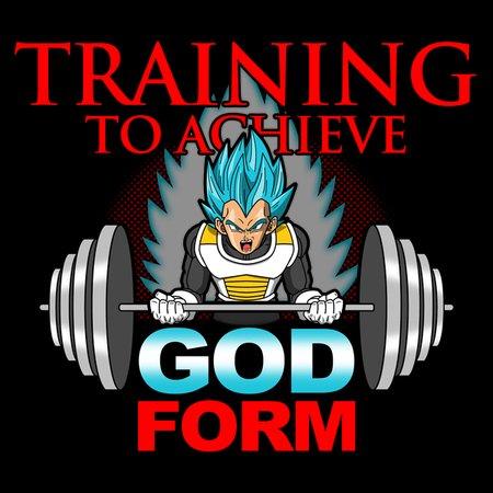 Training To Achieve God Form T-Shirt