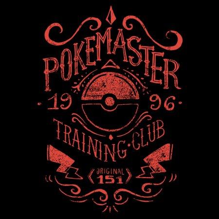 Pokemaster Training Club T-Shirt thumbnail