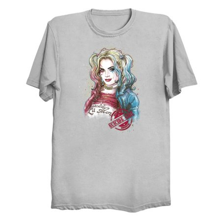 Suicide Girl - Harley Quinn T-Shirts