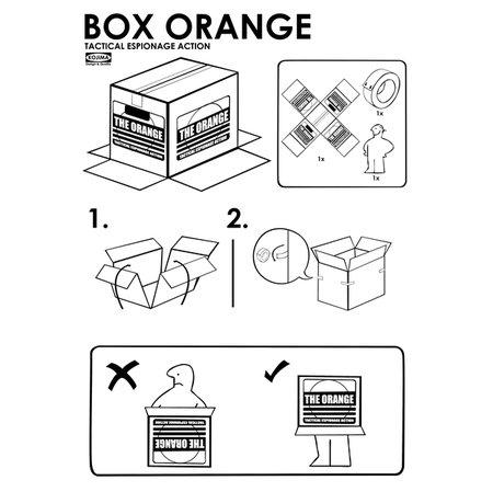 Box Orange T-Shirt