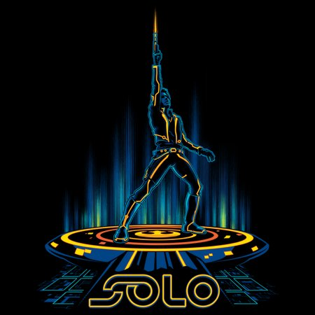 Tron-Solo T-Shirt