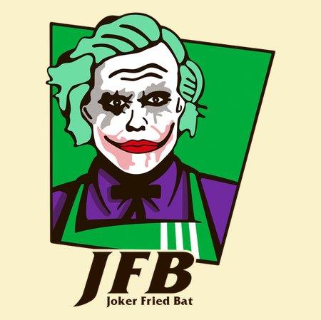 Joker Fried Bat T-Shirt