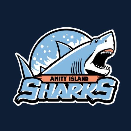 Amity Island Sharks T-Shirt