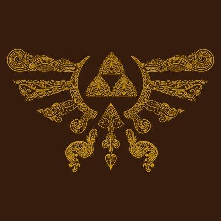 Hylian Henna Symbol T-Shirt