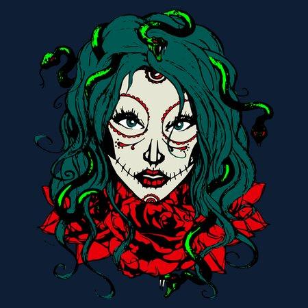 Medusa Gothica T-Shirt