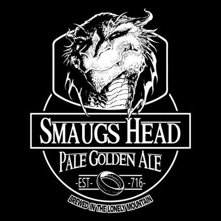 Smaugs Head, Pale Golden Ale T-Shirt