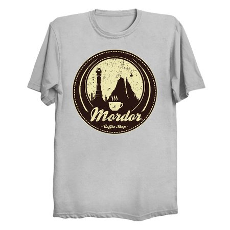 MORDOR COFFEE SHOP T-Shirts