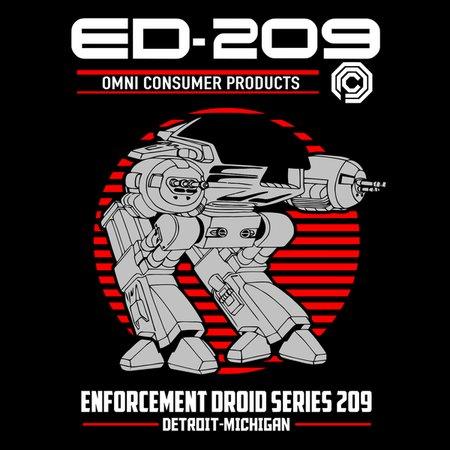 Enforcement Droid T-Shirt thumbnail