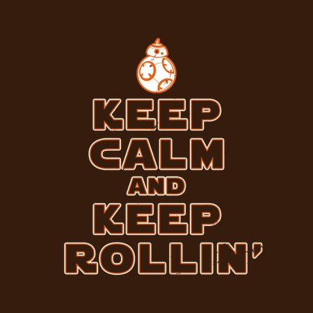 Keep Calm And Keep Rollin' T-Shirt