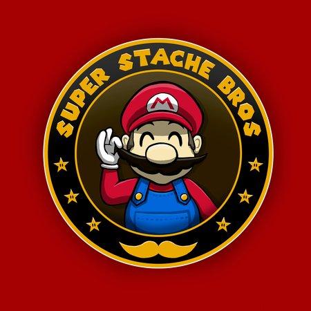 Super Stache Bros T-Shirt