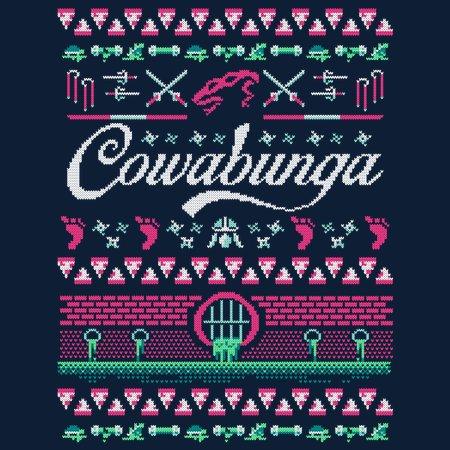 Cowabunga Christmas T-Shirt