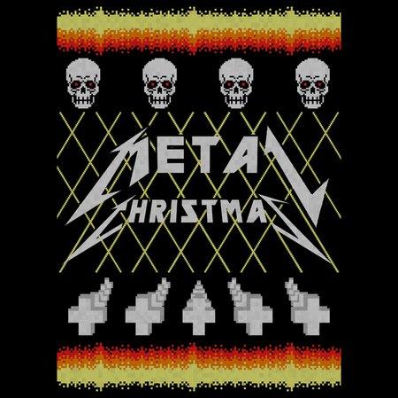 Metal Christmas T-Shirt