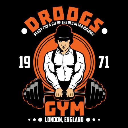 Droogs Gym T-Shirt thumbnail