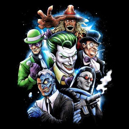 Gotham Rogues Gallery T-Shirt thumbnail