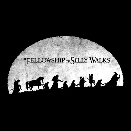 The Fellowship Of Silly Walks T-Shirt