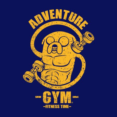 Adventure Gym-Jake Version T-Shirt