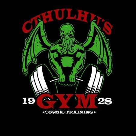 Cthulhu's Gym T-Shirt