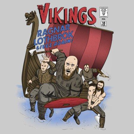 The Vikings T-Shirt