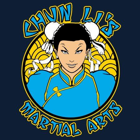 Chun-Li's - Martial Arts T-Shirt thumbnail