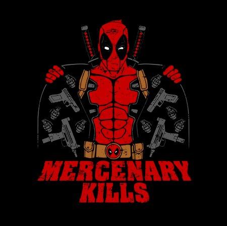 Mercenary Kills T-Shirt