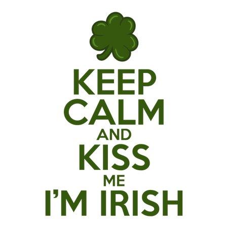 Keep Calm And Kiss Me I'm Irish T-Shirt