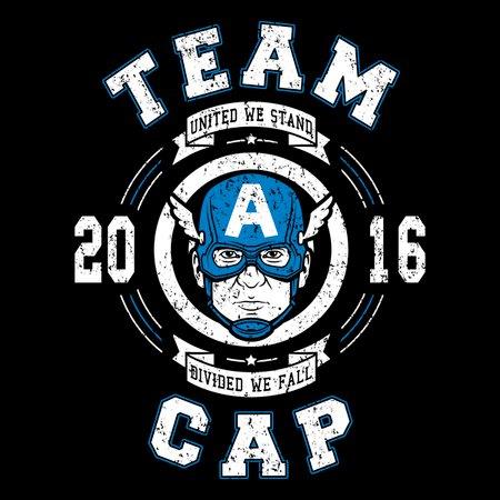 Team Cap T-Shirt thumbnail