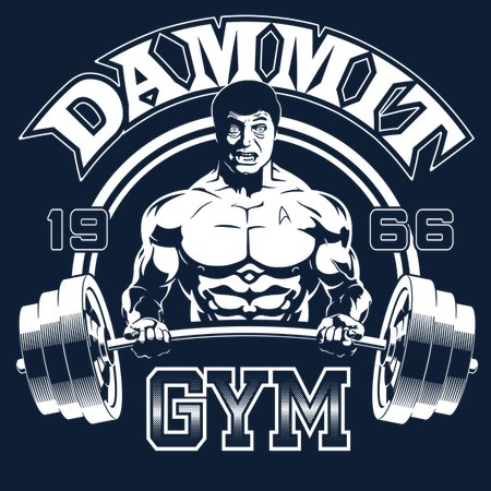 Dammit Gym T-Shirt