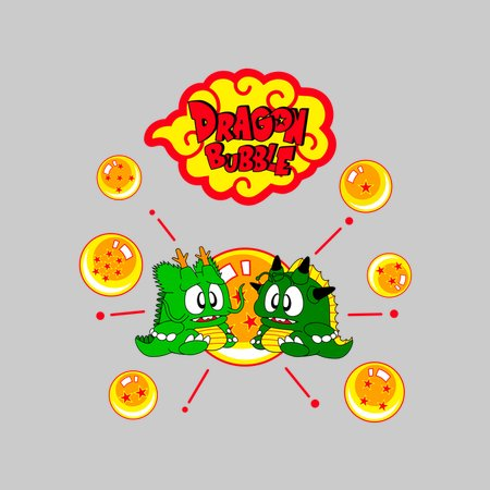 Dragon Bubble T-Shirt