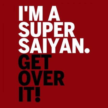 Get Over It Saiyan T-Shirt