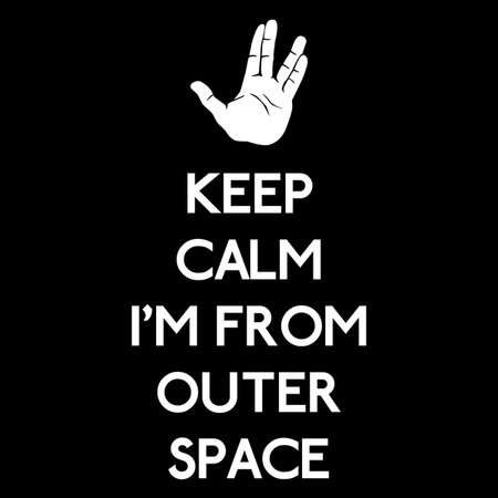 Keep Outer Space T-Shirt