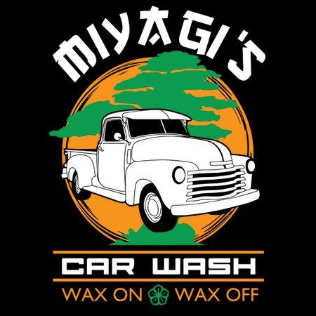 Miyagi's Car Wash T-Shirt