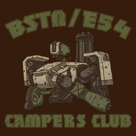 Bstn-E54 Camper Club T-Shirt