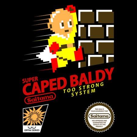 Super Caped Baldy T-Shirt