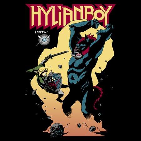 Hylianboy T-Shirt thumbnail