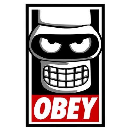 Obey Bot T-Shirt